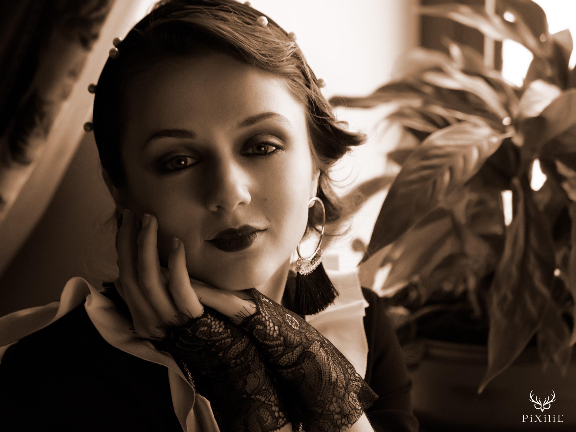 Shooting Gatsby années 20