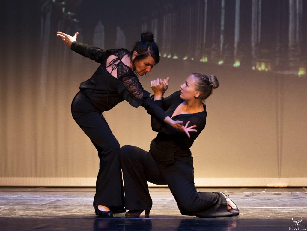 Photographie du spectacle de danse