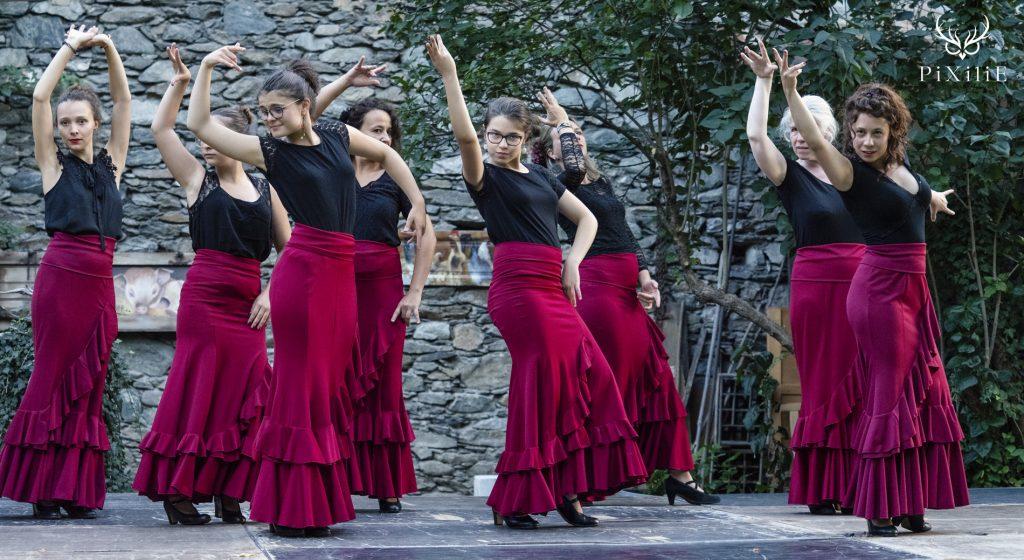 Photographie spectacle Flamenco de la troupe Antonia Flamenco